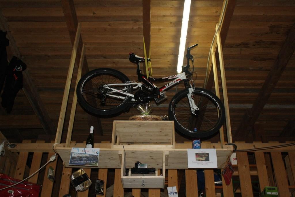 Der Hauptpreis: Ein Mountainbike