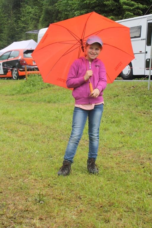 Anna beim Wettercheck