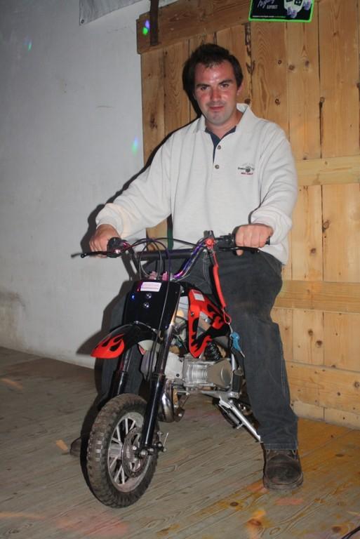2. Preis - ein Minibike von der Fa. Karl Gruber