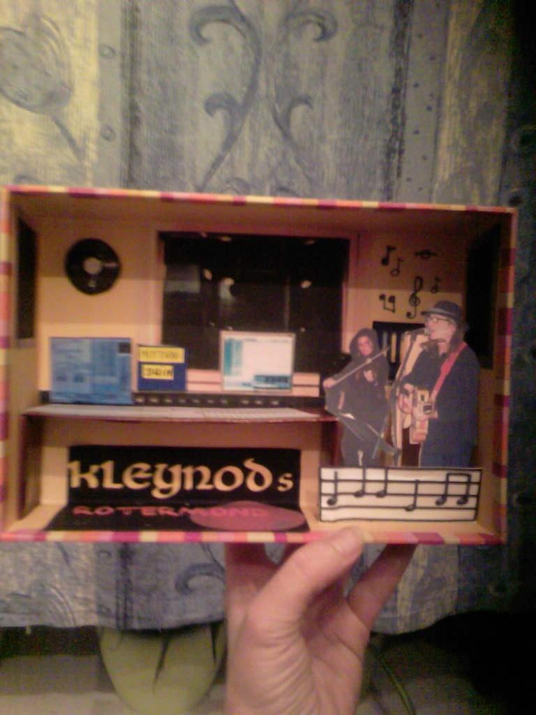 Minitonstudio gebaut für Musiker (Geburtstaggeschenk)