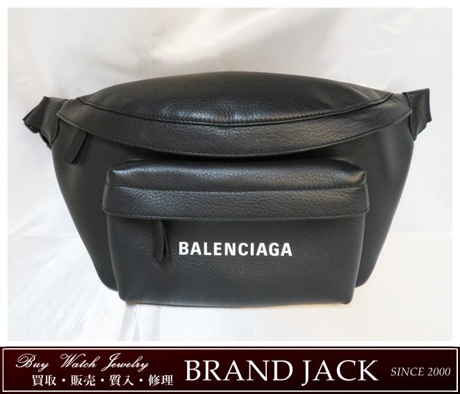 バレンシアガ 552375 DLQ4N エブリデイ ロゴ ベルトバッグ レザー ボディバッグを仙台で高額買取
