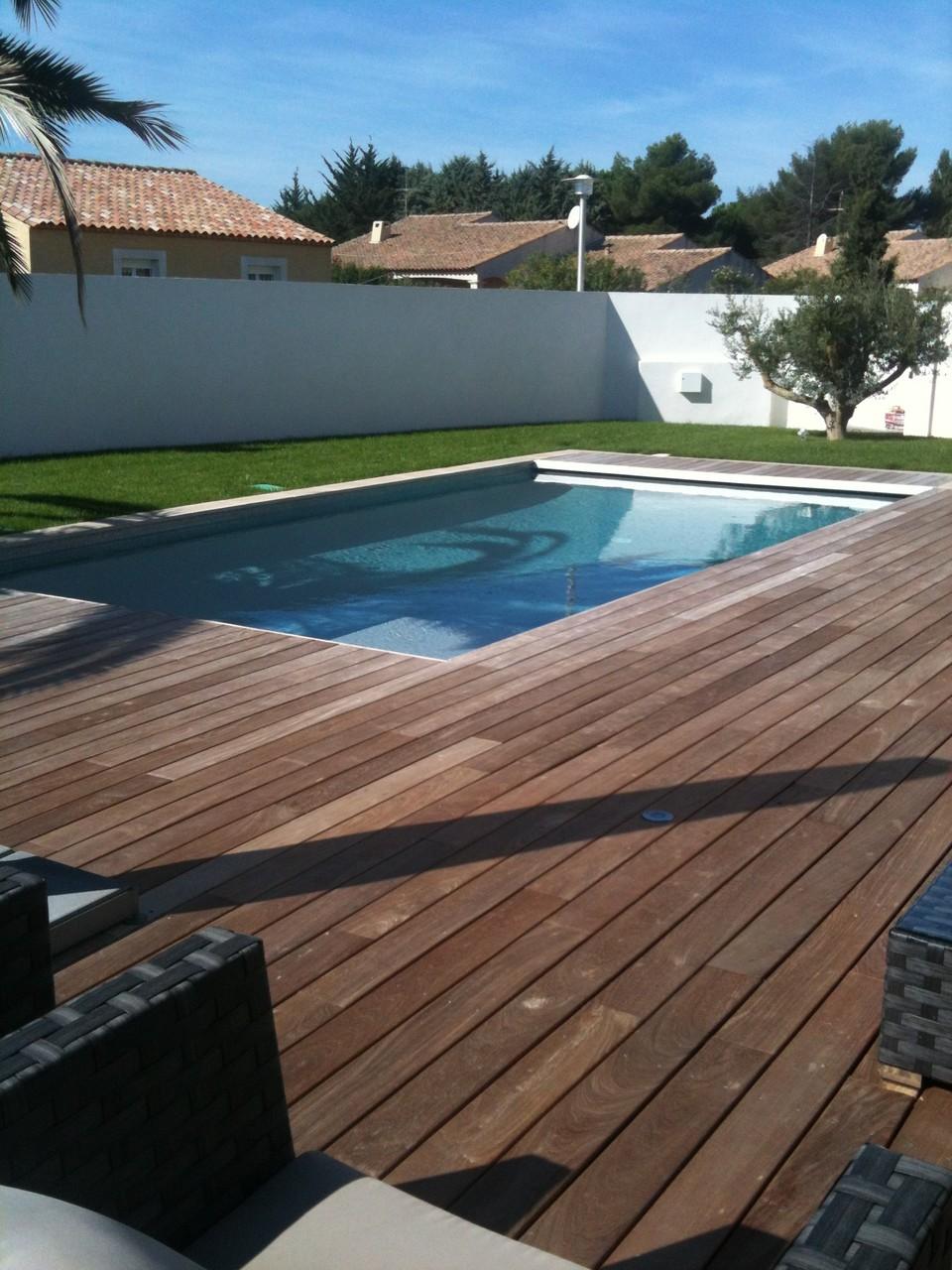 piscine terrasses bois montpellier