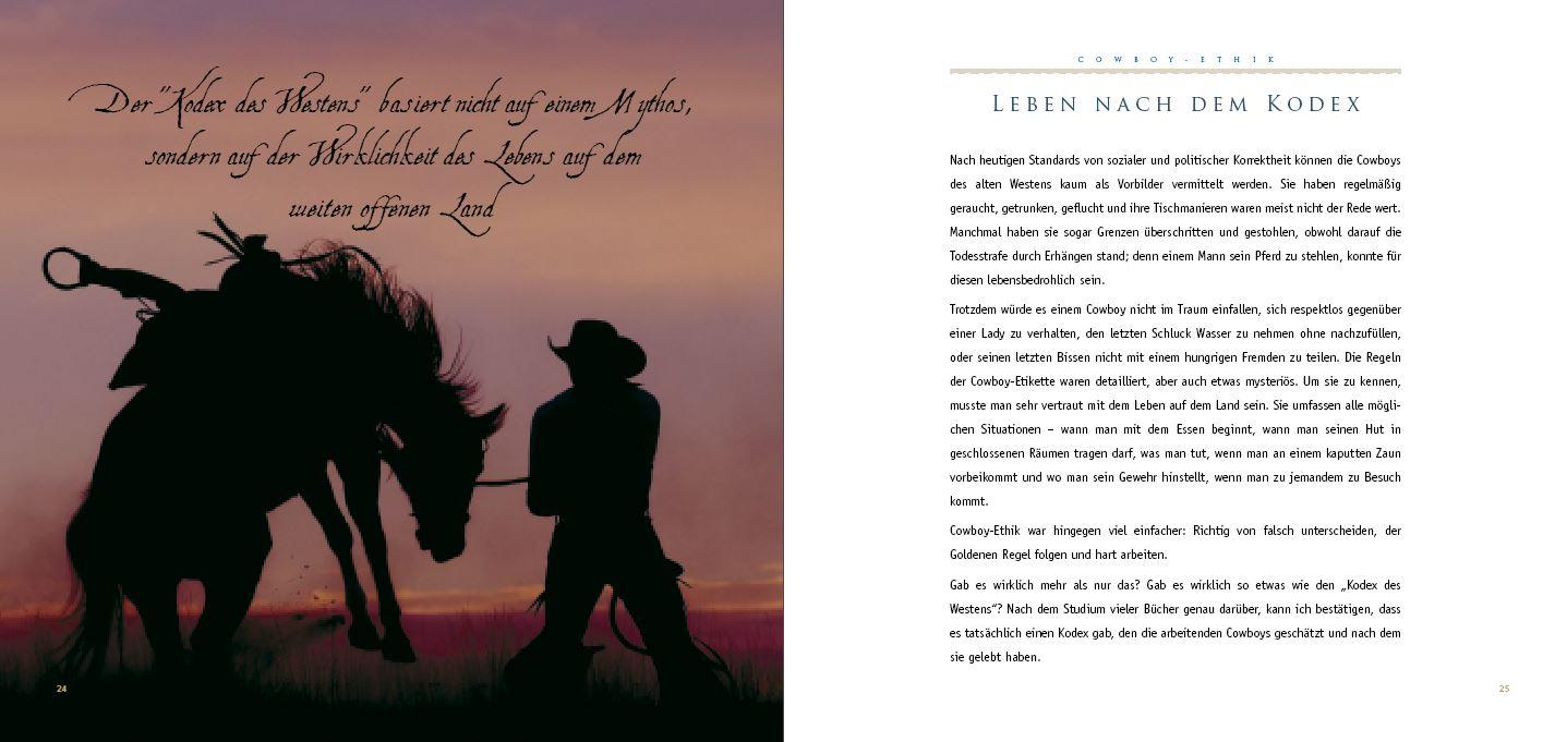 Weihnachtsgeschenk für Papa - Cowboy-Ethik - Das andere Buch zu den ...