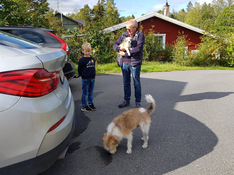 Umzug ins neue Zuhause am 60. Lebenstag (22.09.2019)