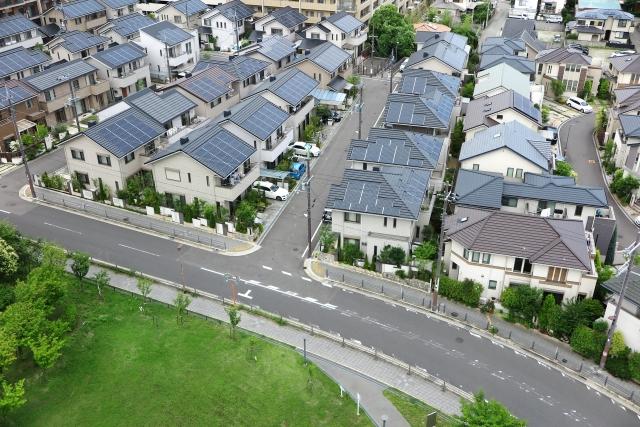 建売住宅は同じ間取りの住宅が区画内にあったりします。