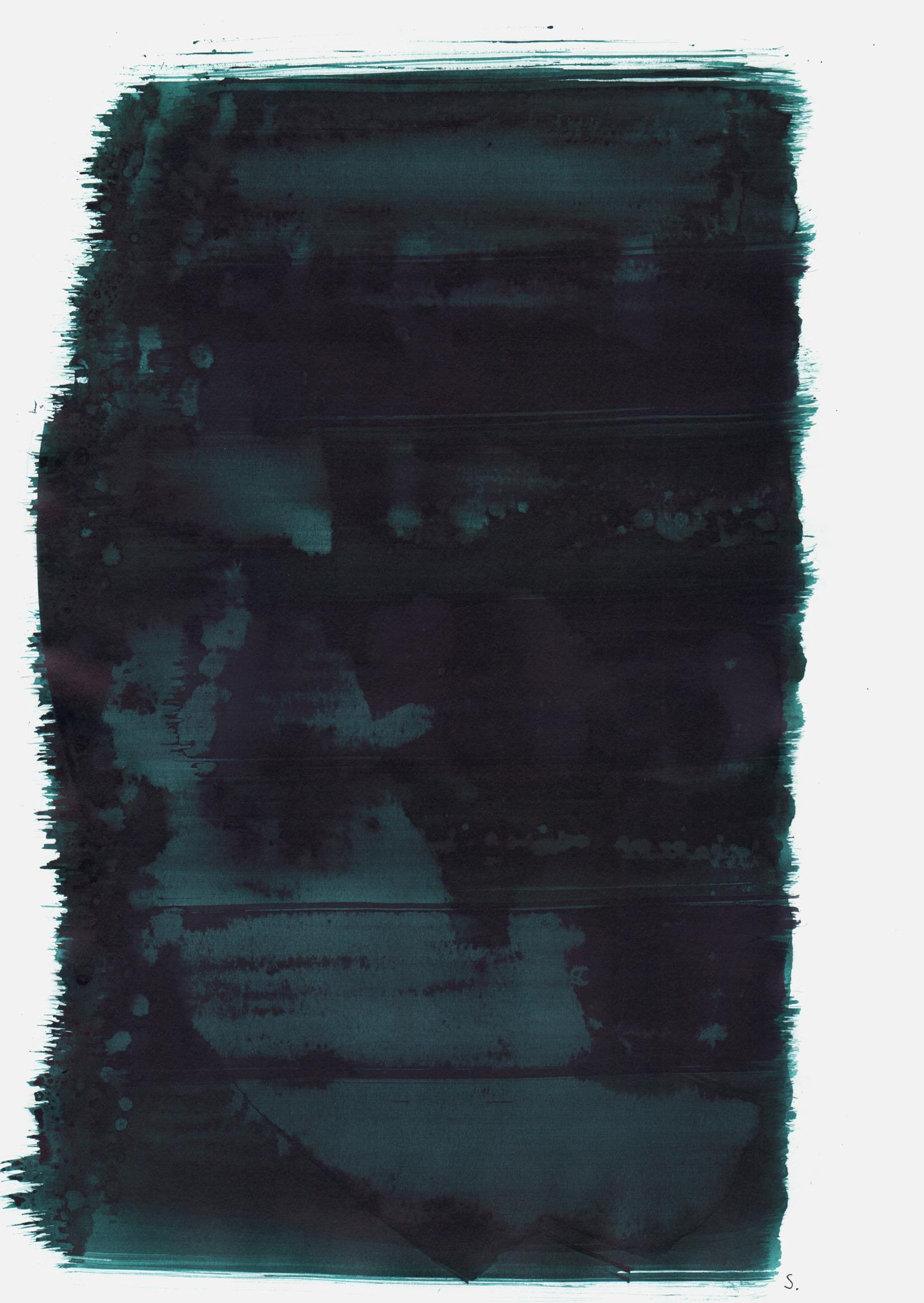 """""""An Dittmar van Wien"""", 2019, Tusche auf Papier, 48 x 36cm; ©: Konstanze Sailer [Wien, Dittmar van; * 02.01.1928 in München; deportiert aus München; † 25.11.1941 in Kowno]"""