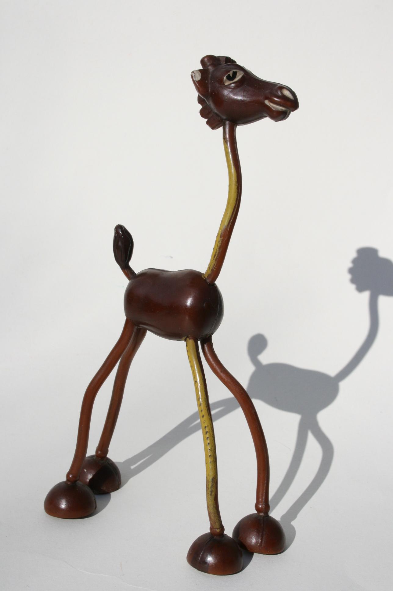 Giraffe, Biegefigur, vermutlich 1951.