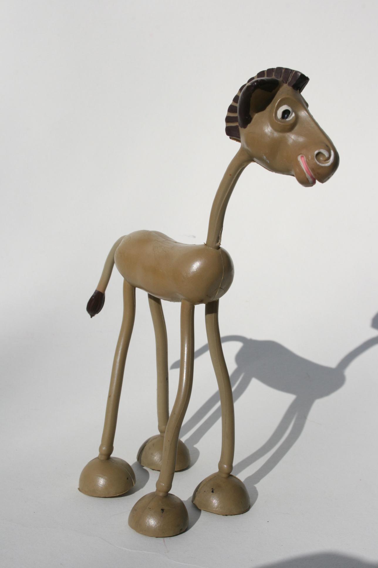 Esel, Biegefigur, 1951.