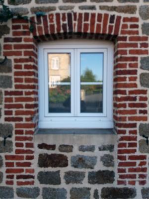 Fenêtre avec alcôve cintrée