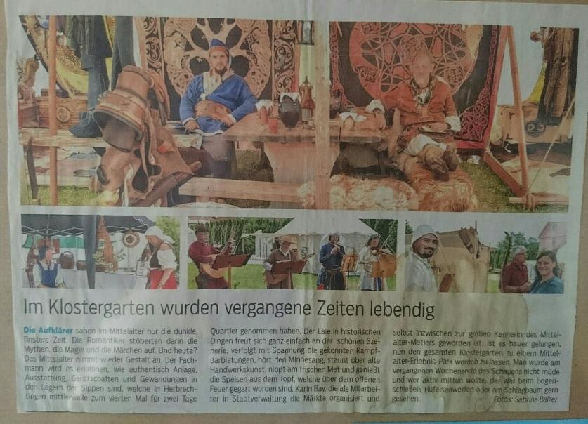 Herbrechtingen Mittelalter Markt 2017 (HZ)