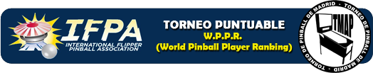 World Pinball Ranking Players