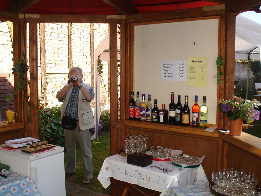 Wein und Sekt bei Christel Bartsch,
