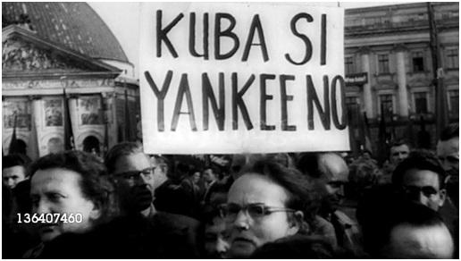 Διαδήλωση υποστήριξης της Κουβανικής Επανάστασης στο Α. Βερολίνο