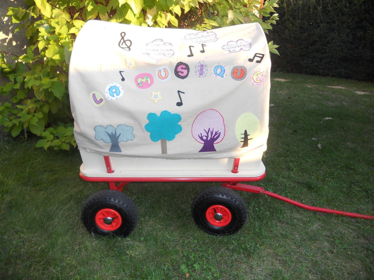 Le chariot à musique