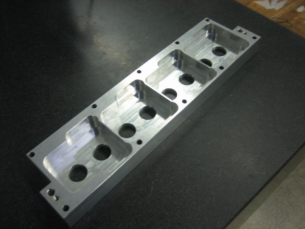 Gehäusebauteil aus Aluminium