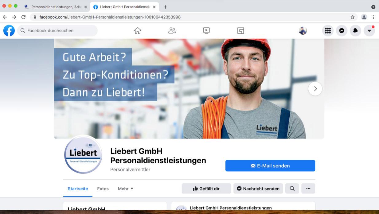 Liebert goes Facebook!