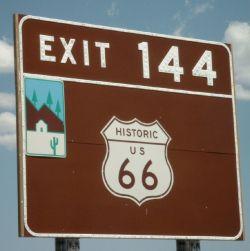 Wer kennt sie nicht: die Motherroad Amerikas - die Route 66