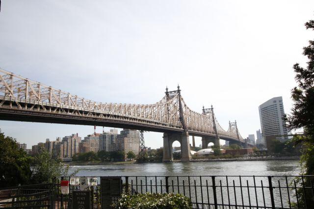 Queensboro Bridge nach Roosevelt Island