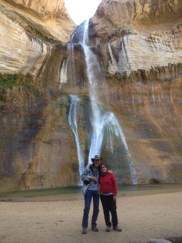 Wir und der Lower Calf Creek