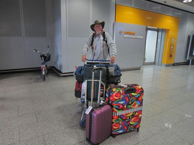 Angekommen in Frankfurt