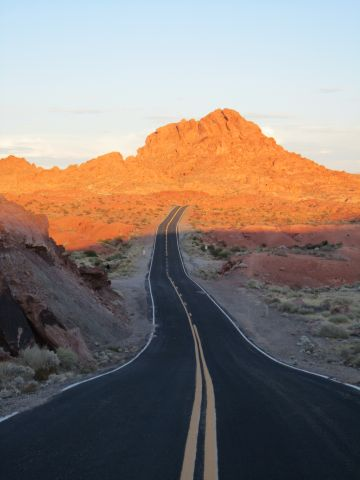 Good bye - good night Valley of Fire