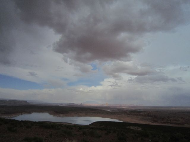 Clouds over LakePowell