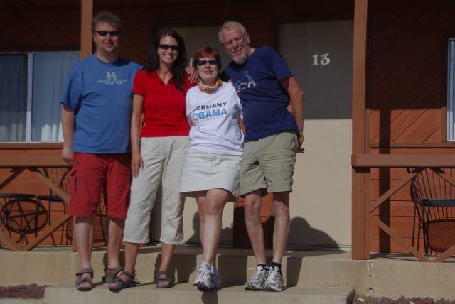 Kleines Stammtich-Treffen mit Christian und Margit