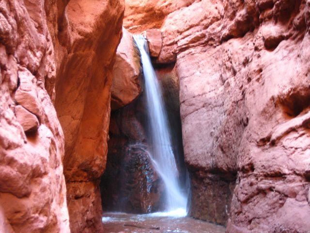Endlich am Wasserfall!
