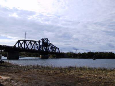 Die Drehbrücke vonLittle Current