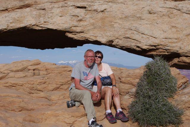 Unterm Mesa Arch