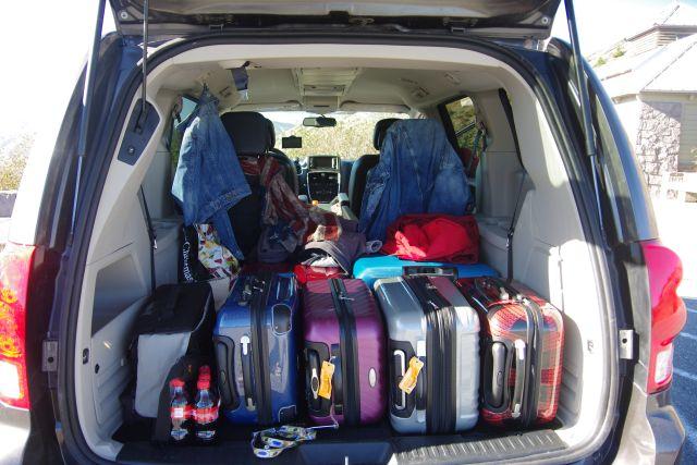 So schaut's in unserem Van aus....