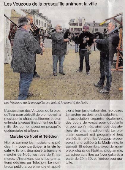 Ouest-France du 6/12/15