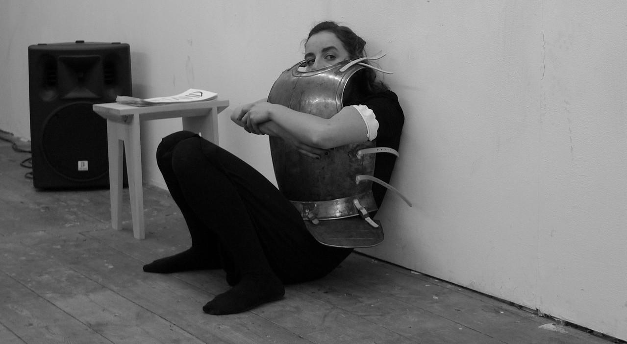 Gina Henkel, Probenfoto von Anna Bergemann