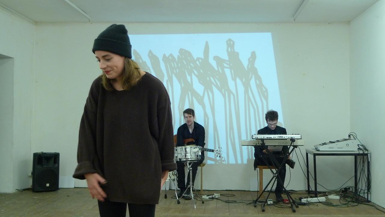 Gina Henkel, Christian Wisch, Stephan Zunhammer, Probenfoto von Anna Bergemann
