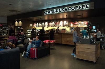 microcemento madrid Starbucks