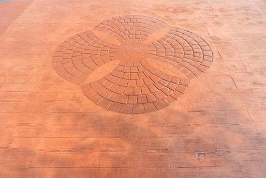 Tipos de hormig n impreso seg n su acabado pulimentos mc - Hormigon decorativo para suelos ...