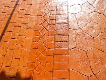 Pavimentos de hormig n impreso en madrid pulimentos mc - Hormigon impreso en madrid ...