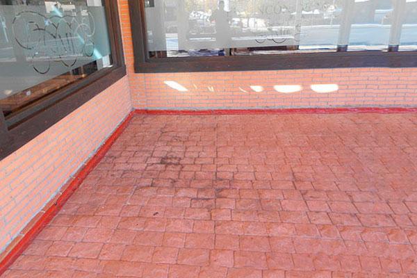 hormigón, hormigón impreso, mantenimiento hormigón impreso, pavimentos hormigón, hormigón para suelos