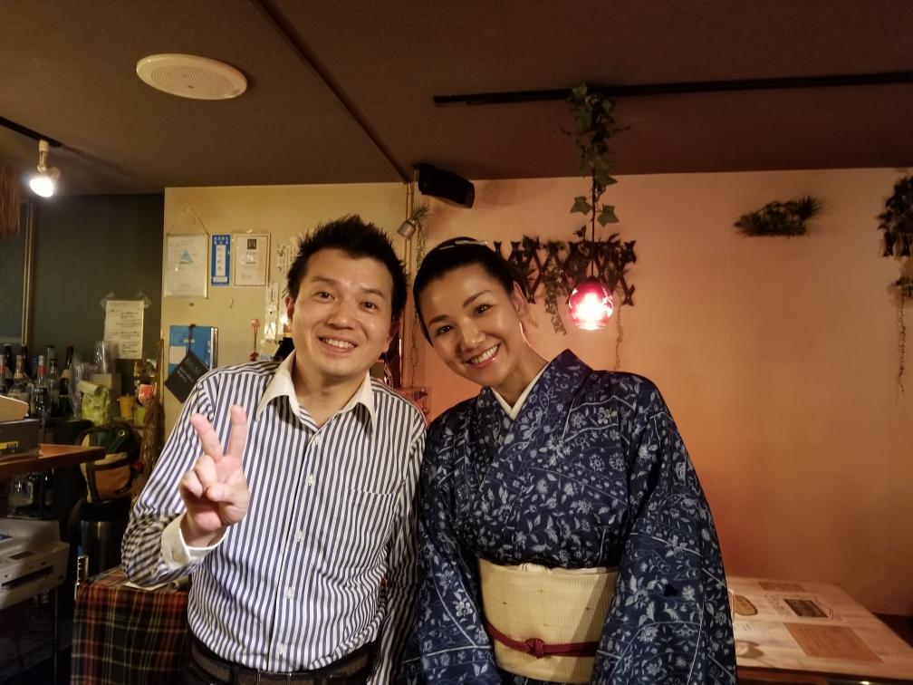 2019.05.23 林家たけ平さん・林家あずみさん
