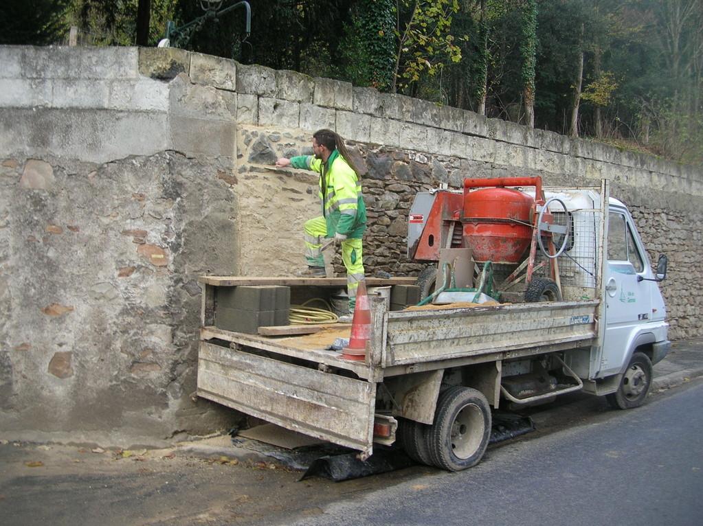 Rénovation Mur - Avenue des Cadets - Gennes