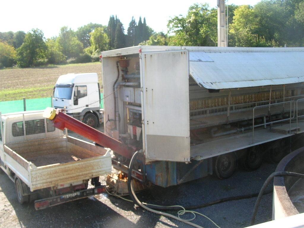 Déshydratation de 400 m3 de boue pour dépôt en centre d'enfouissement technique