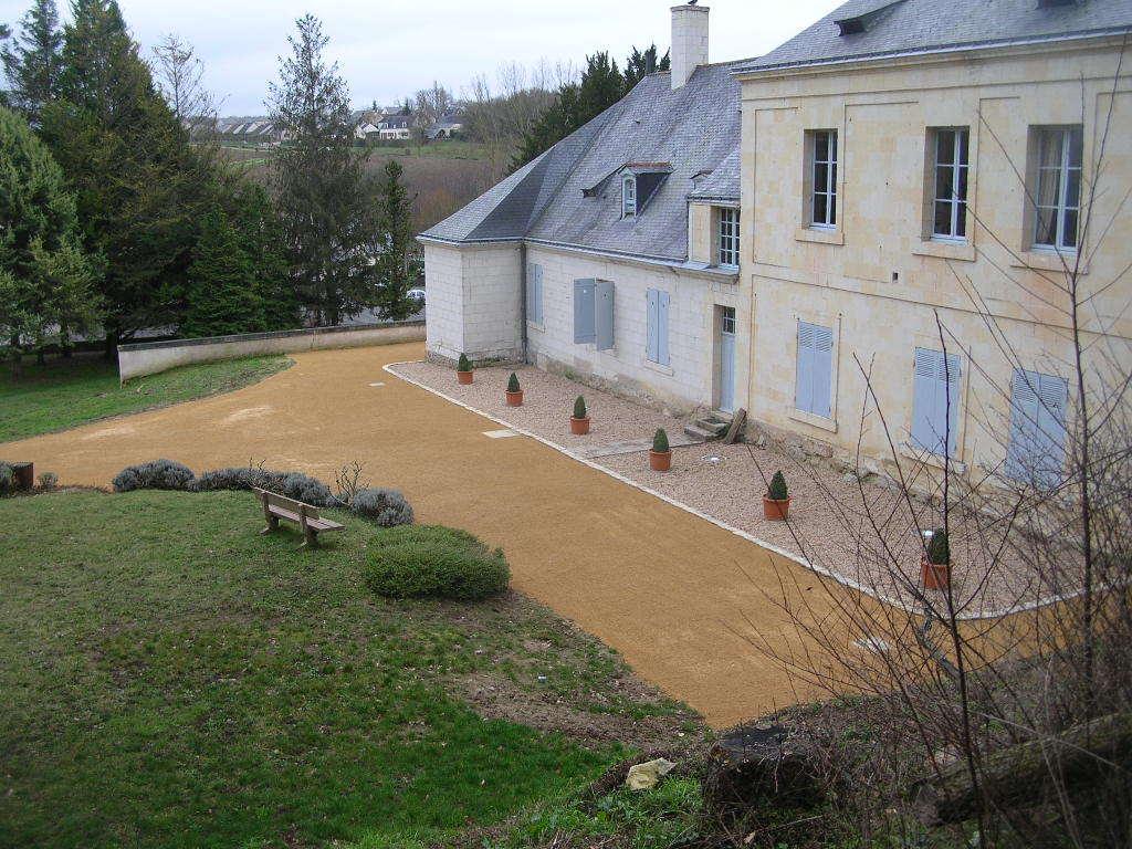 Aménagements abords Chateau de la Roche