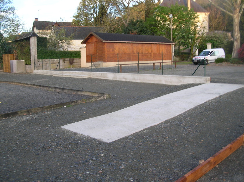 Aménagement Terrain Pétanque