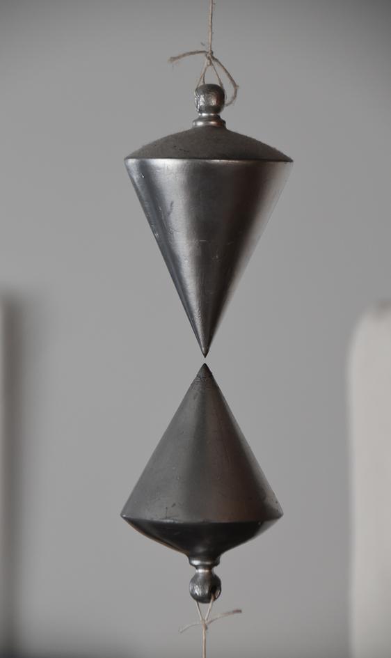 Senkblei  //  Holz Magnet bemalt  23x7