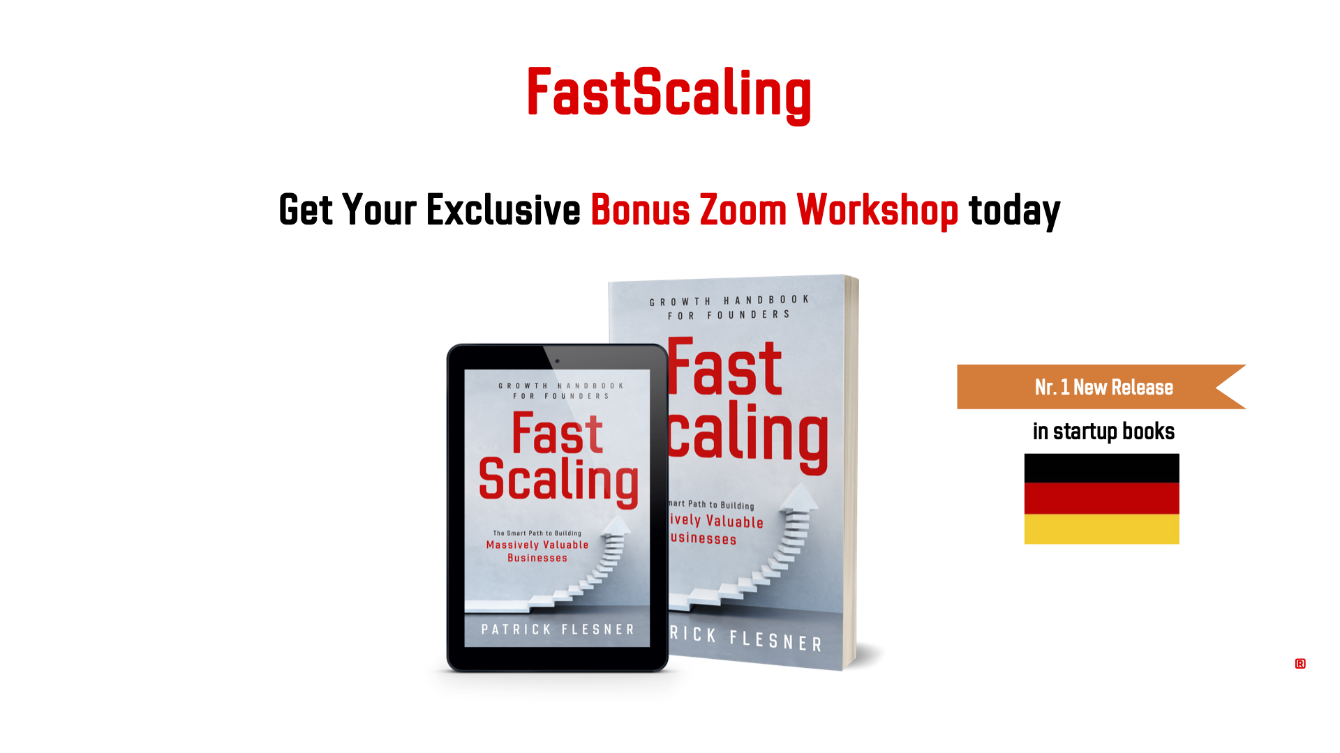 FastScaling - Limited Number of Exclusive Bonus Workshops