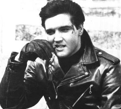 Rocker Elvis in Deutschland