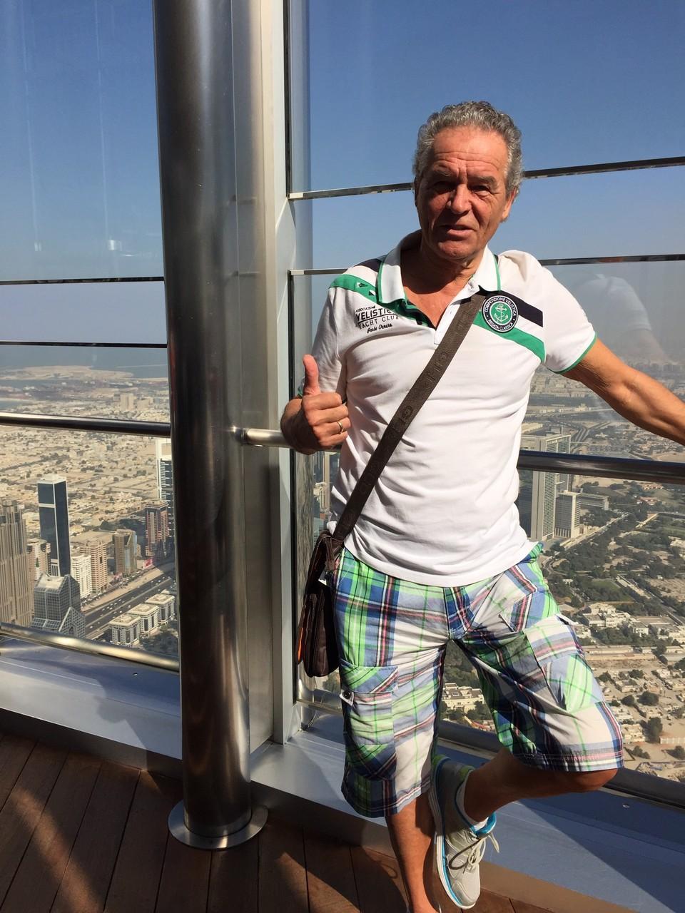 Grüße aus Dubai - Peter zieht es wieder nach Denia