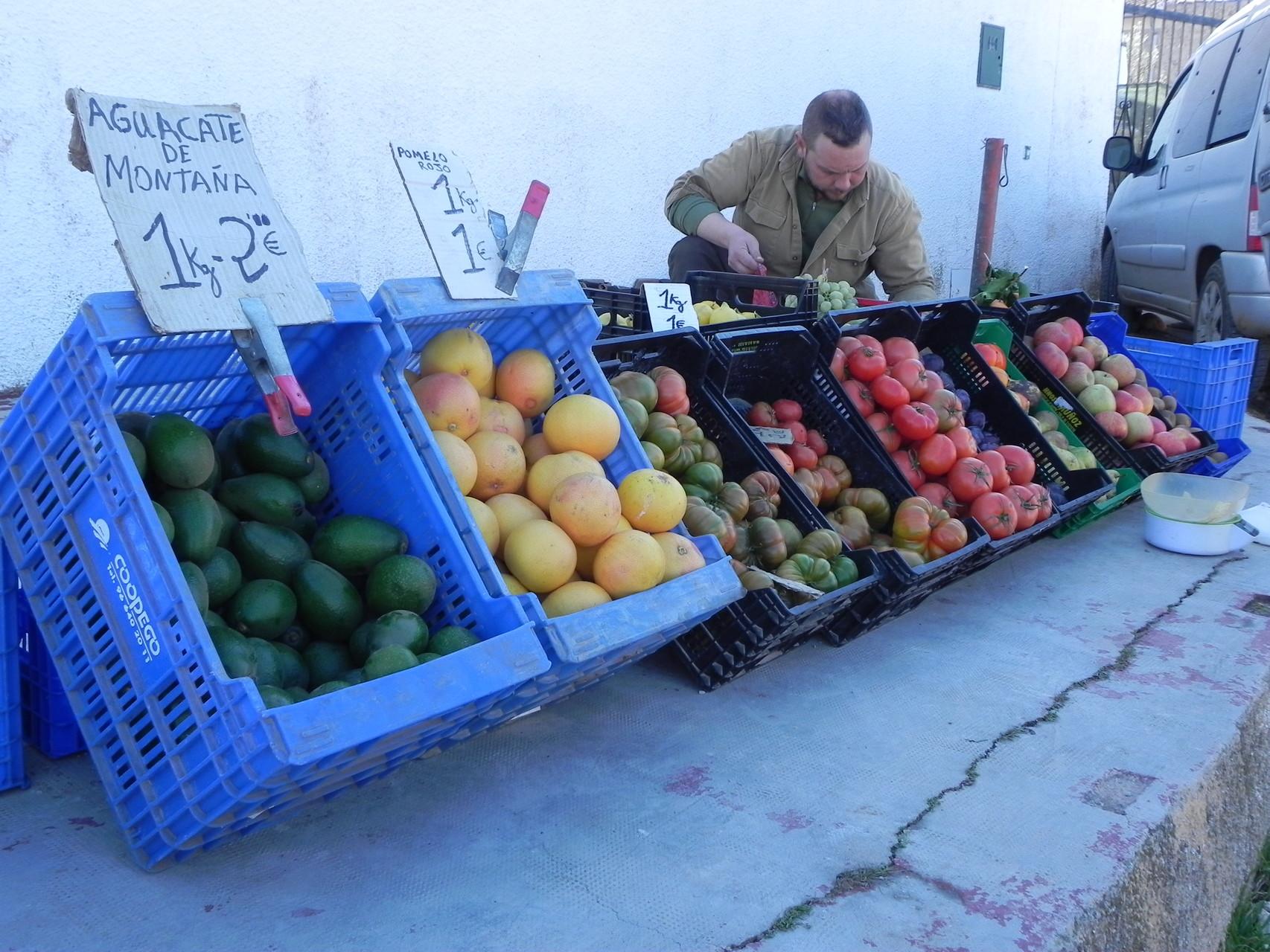 Leckeres Obst frisch vom Bauern