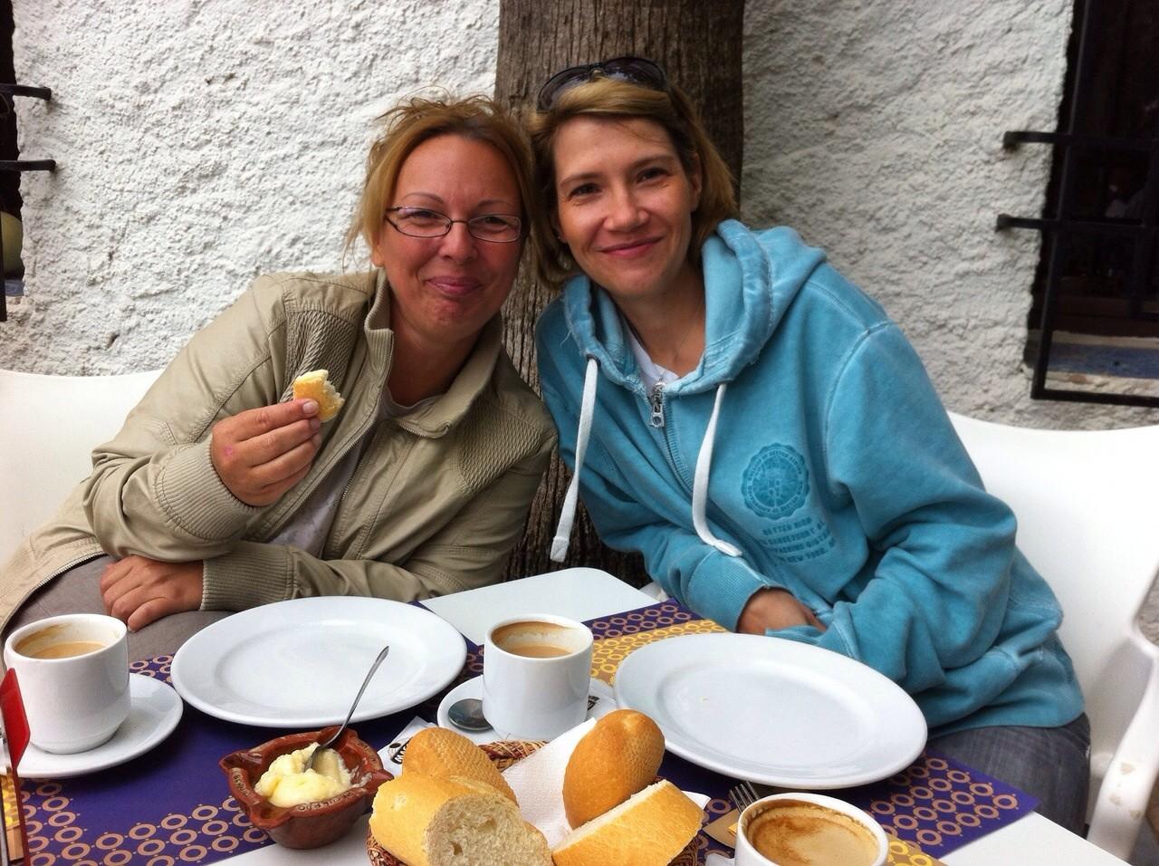 Kerstin mit Susanne aus Brandenburg