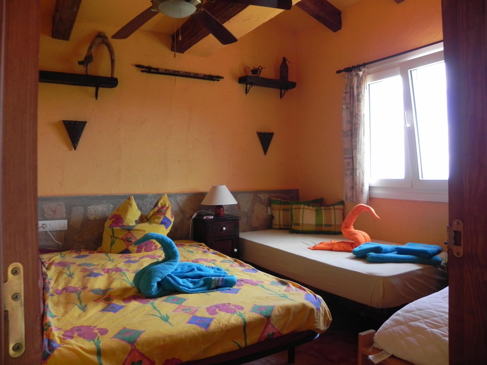 Schlafzimmer 2 für 2-3 Personen